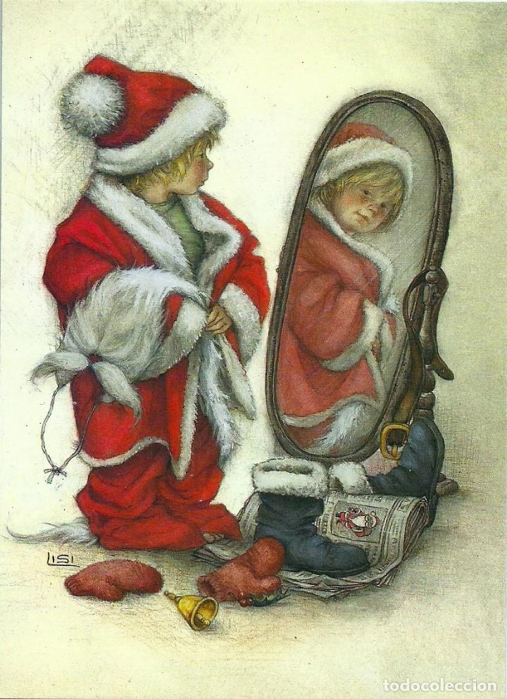 0706W - LISI MARTIN - PICTURA GRAPHICA 1984 - 14,5X10,5 CM (Postales - Postales Temáticas - Navidad)