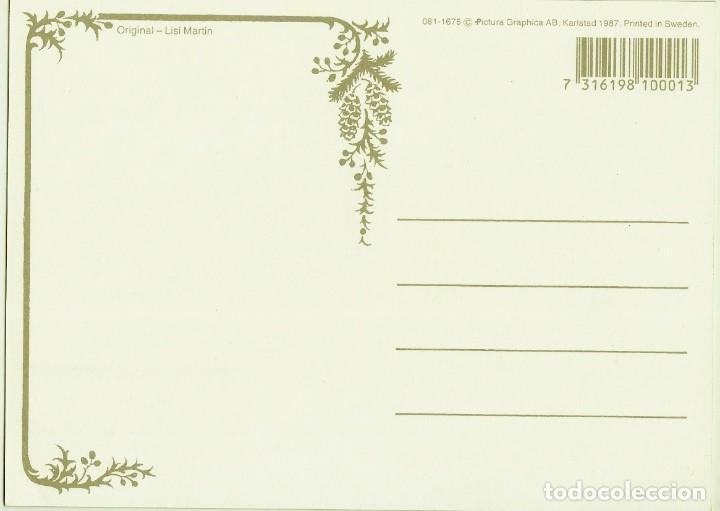 Postales: 0708W - LISI MARTIN - PICTURA GRAPHICA 1987 - 14,5X10,5 CM - Foto 2 - 128667527