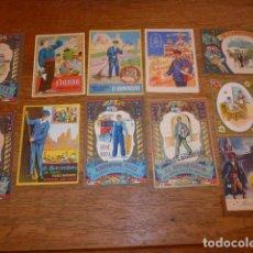 Postales: LOTE 11 ANTIGUAS POSTALES DE FELICITACION DE NAVIDAD. POSTAL ANTIGUA, EL MONAGUILLO, BARRENDERO..... Lote 131403846