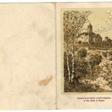 Postales: TEXTIL GIRBAU - TARRASA - FELICITACIÓN DE NAVIDAD 1953. Lote 134110250