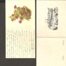 Postales: LOTE 2 POSTALES ANTIGUAS.. Lote 134947102