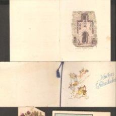 Postales: LOTE 4 POSTALES ANTIGUAS.. Lote 134947322