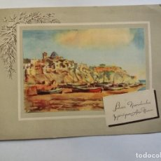 Postales: TARJETA POSTAL - 1956 FELICES NAVIDADES Y PRÓSPERO AÑO NUEVO - SERIE V. Lote 135108566