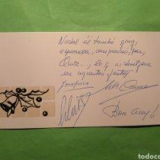 Postales: FELICITACION NAVIDEÑA / NAVIDAD ESCRITA. Lote 135582598