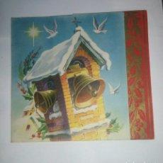 Postales: POSTAL NAVIDAD TROQUELADA 1960. Lote 136543502