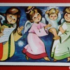 Postales: ESTAMPA FELICITACIÓN NAVIDAD ILUSTRA PRUDEN AÑO 1965 / 11,5 X 6 CM. Lote 137131566