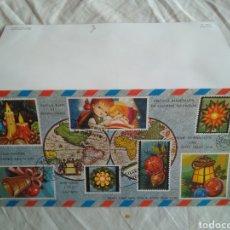 Postales: TARJETA NAVIDAD 1210/55-B. CYZ. AÑO 1979. ESCRITA. Lote 137138480