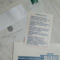 Postales: TARJETA NAVIDAD + ORACIÓN NOVELDA HERMANITAS ANCIANOS DESAMPARADOS, 1970. Lote 137151881