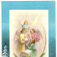 Postales: -45762 POSTAL DIBUJO NIÑOS ANGELES ADORANDO AL NIÑO JESUS, NAVIDAD, Nº 110/5. Lote 138762746
