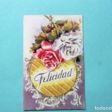 Postales: ANTIGUA POSTAL DE NAVIDAD TROQUELADA. Lote 139352234