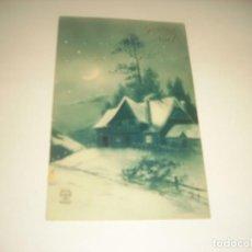 Postales: POSTAL DE NAVIDAD FRANCESA. ESCRITA 1927. Lote 140214058