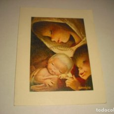 Postales: BONITA POSTAL DE NAVIDAD.DOBLE, NO ESCRITA . FERRANDIZ.. Lote 140896778