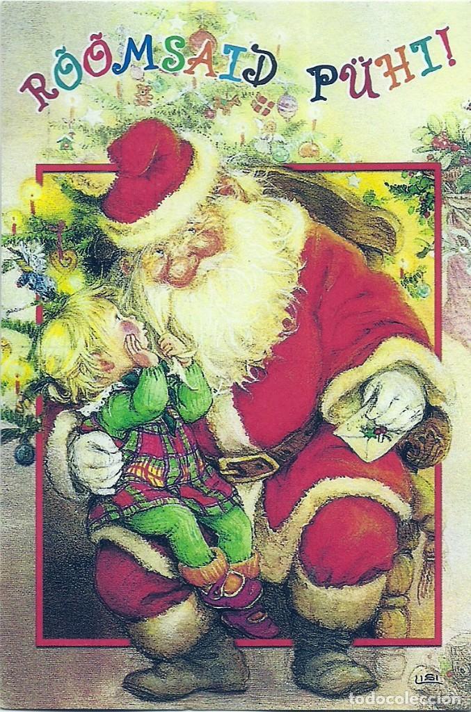 Fotos Simpaticas De Papa Noel.2091p Lisi Martin Simpatico Y Atento Papa Noel Impresa En Rusia 15x10 Cm