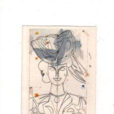 Postales: MANOLO VALDES. MUSEO GUGGENHEIM BILBAO. TARJETA DE FELICITACION DE NAVIDAD. VER FOTOS.. Lote 141759862