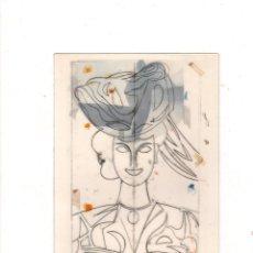 Postales: MANOLO VALDES. MUSEO GUGGENHEIM BILBAO. TARJETA DE FELICITACION DE NAVIDAD. VER FOTOS.. Lote 141759998