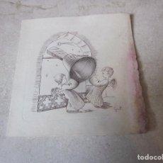 Postales: POSTAL ESCRITA NAVIDAD 1962. Lote 141974874