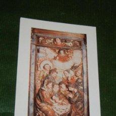 Postales: FELICITACION NAVIDAD PARROQUIAS DEL GARRAF, BARCELONA 2001. Lote 142327018