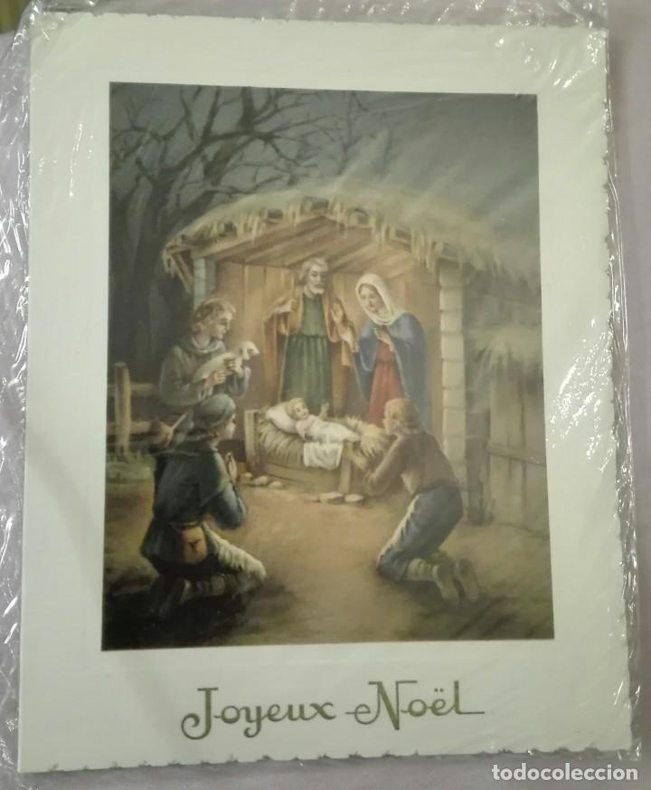 -73121 POSTAL PINTURA NAVIDAD, EDICIONES JC, BÉLGICA (Postales - Postales Temáticas - Navidad)