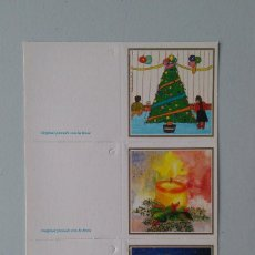 Postales: 3 MINIPOSTALES ASOCIACIÓN PINTORES BOCA PIE. Lote 143937370