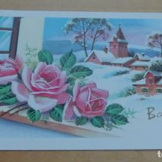 Postales: POSTAL SENCILLA NAVIDAD 13X8 CM. ESCRITA. Lote 144000418