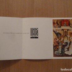 Postales: FELICITACION NAVIDAD ORIGINAL BANCA CATALANA 1968. Lote 145283390