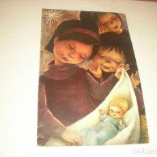 Postales: BONITA POSTAL DE NAVIDAD, DOBLE , ESCRITA. ANCLA 161. 17 X 11 CM.. Lote 145613626