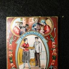Postales: FELICITACION NAVIDEÑA. EL PANADERO. Lote 145998889