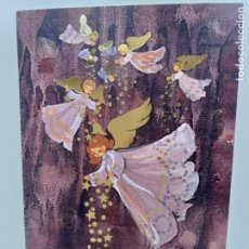 Postales: POSTAL DIBUJOS ANGELES DE NAVIDAD. ILUSTRACION RUTH CHRISTENSEN. Lote 146706870