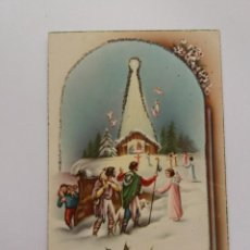 Postales: ANTIGUA TARJETA POSTAL - 1953 NAVIDAD IGLESIA - LT Nº 1207 . Lote 146898670