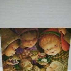 Postales: POSTAL DE FERRANDIZ ORIGINAL AÑOS 60 DÍPTICO 19 X13 CM. Lote 147038966