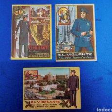 Postales: FELICITACIÓN DE NAVIDAD DE EL VIGILANTE AÑOS 70. Lote 148973145