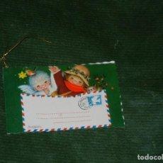 Postales: POSTAL NAVIDAD FERRANDIZ - DIPTICO 8,5X5CM ESCRITA 1974. Lote 149750974