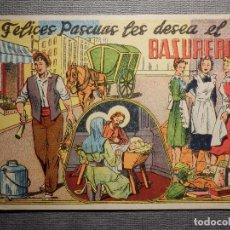Postales: FELICITACIÓN OFICIOS - FELICES PASCUAS LES DESEA EL BASURERO - . Lote 150503802