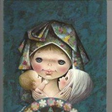Postales: POSTAL NAVIDAD *LISI MARTIN* - RENI 97-2 - DIPTICA, 15,5X11 CM (1967). Lote 151665654