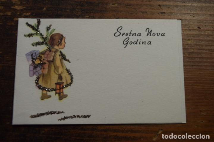 TARJETA DE NAVIDAD CROATA SRETNA NOVA GODINA (Postales - Postales Temáticas - Navidad)