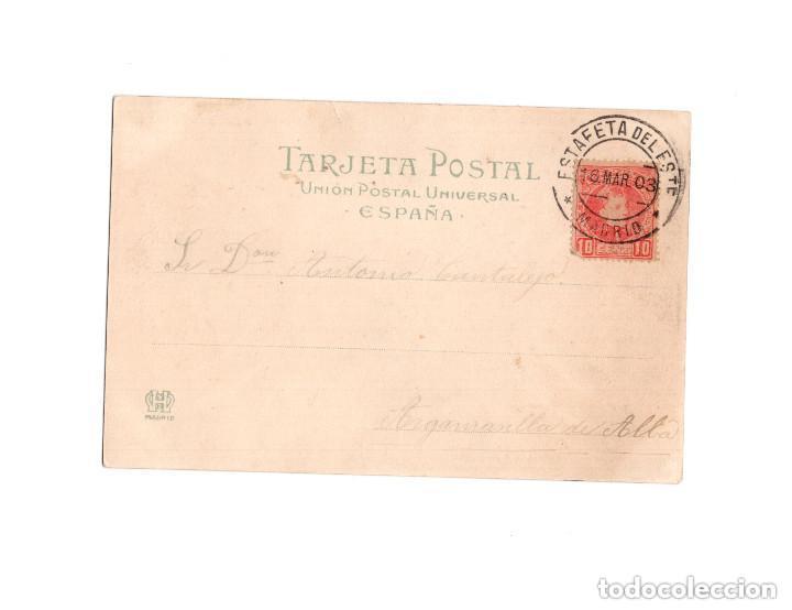 Postales: NOCHE DE REYES. COLECCIÓN E. GONZALEZ.- POR QUE SOY MUY BUENO QUE ME ACUSTO SOLO - Foto 2 - 154250094