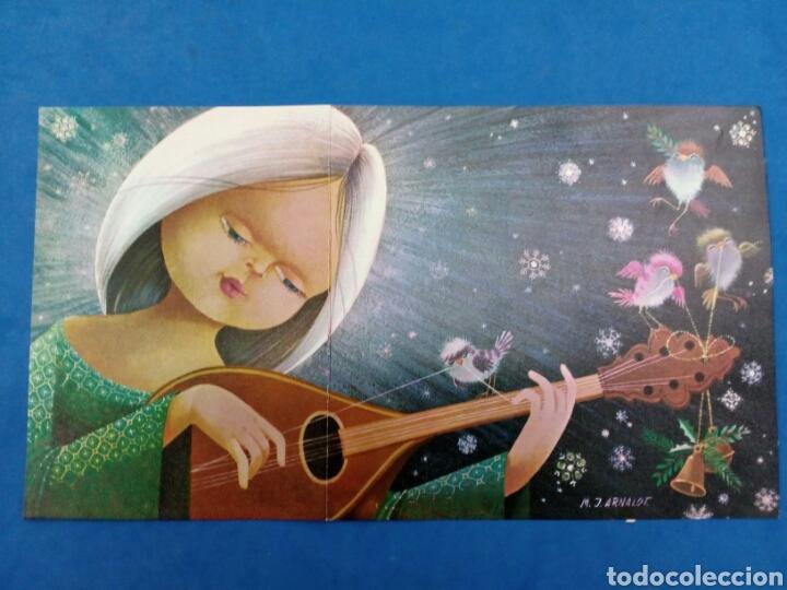 Postales: 4 Postales Navidad , M.J.Arnalot ,años 1960-70 - Foto 2 - 154322668