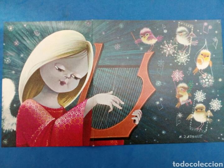 Postales: 4 Postales Navidad , M.J.Arnalot ,años 1960-70 - Foto 3 - 154322668
