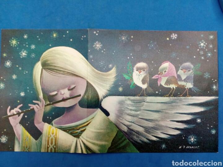 Postales: 4 Postales Navidad , M.J.Arnalot ,años 1960-70 - Foto 4 - 154322668