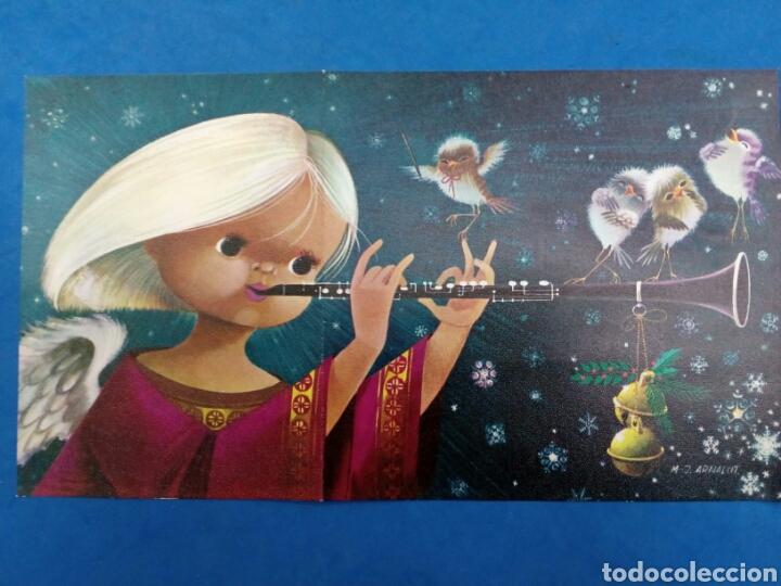 Postales: 4 Postales Navidad , M.J.Arnalot ,años 1960-70 - Foto 5 - 154322668