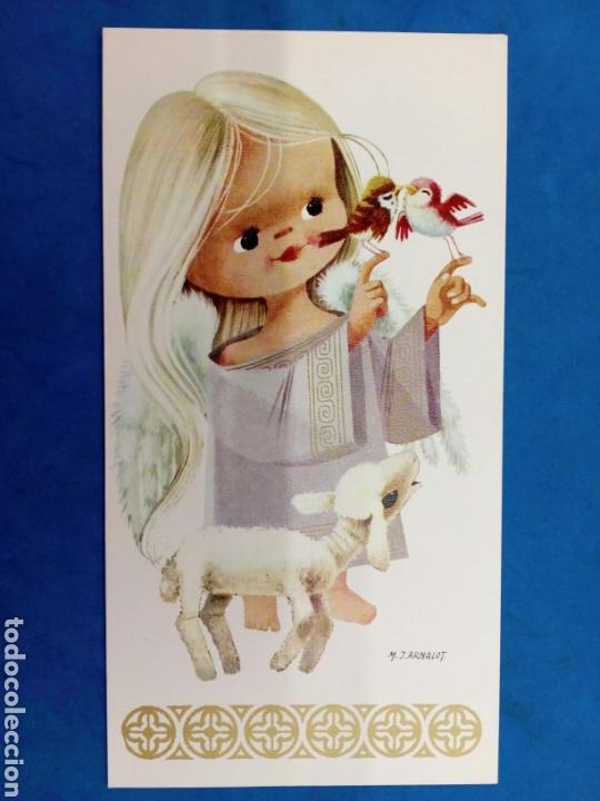 Postales: 4 Postales Navideñas , M.J.Arnalot , años 1960-70 - Foto 2 - 154327209