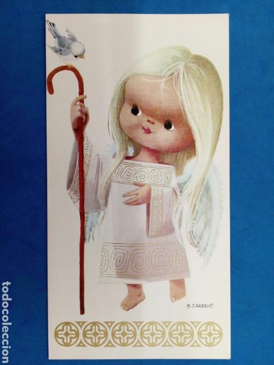 Postales: 4 Postales Navideñas , M.J.Arnalot , años 1960-70 - Foto 4 - 154327209