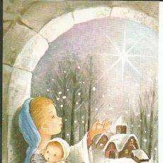 Postales: POSTAL *CONSTANZA* LA VIRGEN Y EL NIÑO JESÚS - 13,5X8,5 CM. Lote 154476390