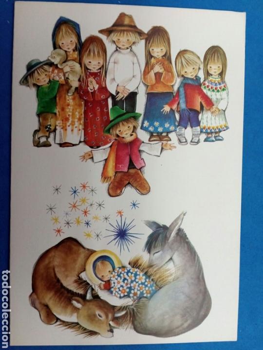 Postales: Postal Navidad , Roser Puig , Ediciones Sabadell , año 1969 - Foto 2 - 155216965
