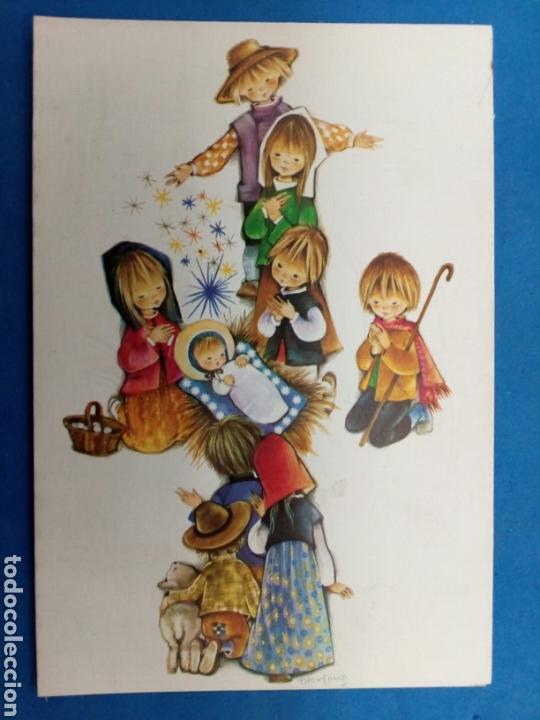 Postales: Postal Navidad , Roser Puig , Ediciones Sabadell , año 1969 - Foto 4 - 155216965