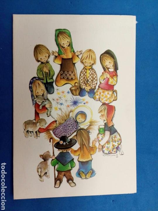 Postales: Postal Navidad , Roser Puig , Ediciones Sabadell , año 1969 - Foto 5 - 155216965