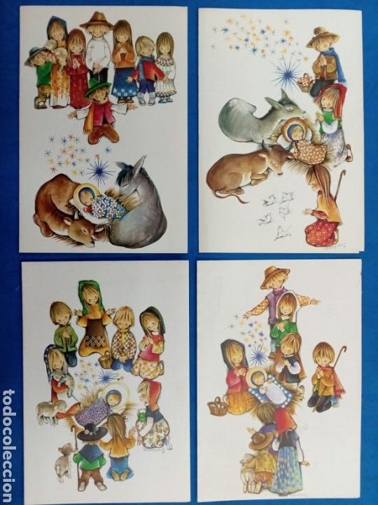 POSTAL NAVIDAD , ROSER PUIG , EDICIONES SABADELL , AÑO 1969 (Postales - Postales Temáticas - Navidad)