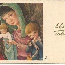 Postales: POSTAL NAVIDAD *MCN* - ED. ANCORA S/128 - 12,5X6,5 CM. Lote 155316494