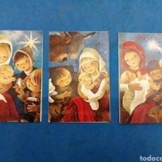 Postales: LOTE 3 POSTALES DE NAVIDAD , CYZ , AÑO 1970. Lote 155337672