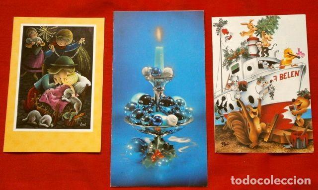Felicitaciones Escritas De Navidad.3 Antiguas Felicitaciones De Navidad Marca Creaciones Dipticas Escritas Ilustradores Axel Paqui